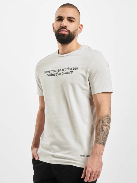 Jack & Jones T-Shirt jcOurbany Crew Neck gray