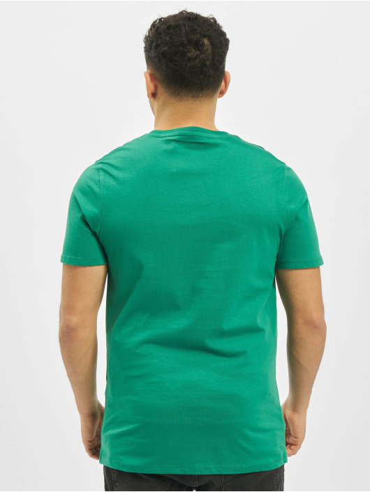 Jack & Jones T-Shirt jjeDenim Logo O-Neck Noos green