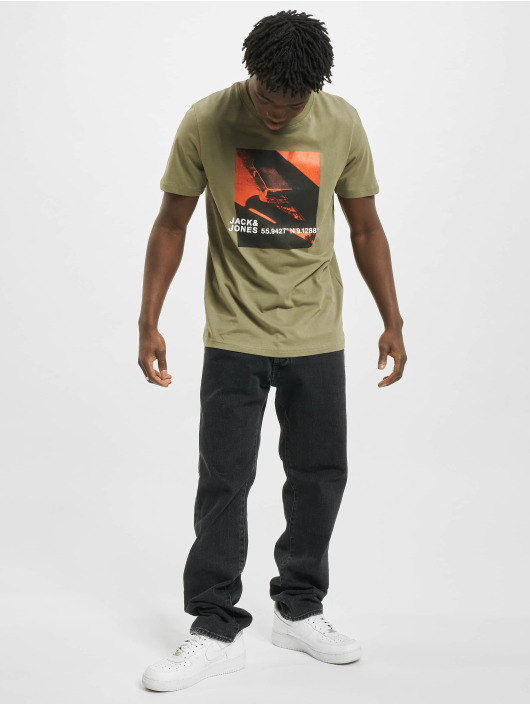 Jack & Jones T-Shirt jcoJump green