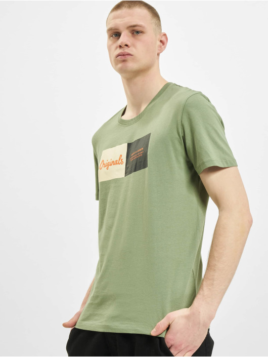 Jack & Jones T-Shirt jorJoshua olive