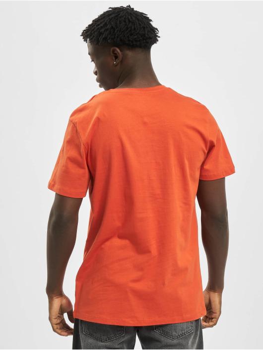Jack & Jones T-Shirt jorSkulling orange
