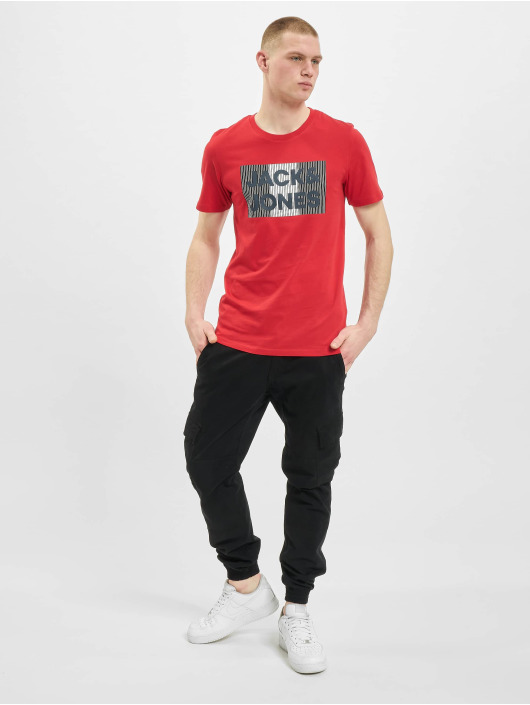Jack & Jones T-Shirt jjeCorp Logo Noos red