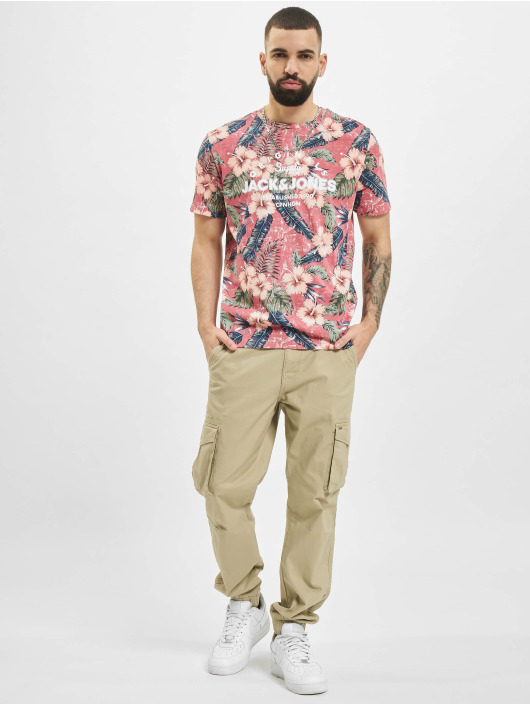 Jack & Jones T-Shirt jjPop Print rose