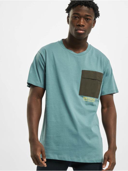 Jack & Jones T-Shirt jcoAwake Crew Neck turquoise