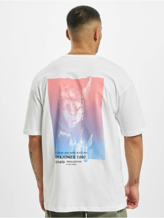 Jack & Jones T-Shirt jorTash white