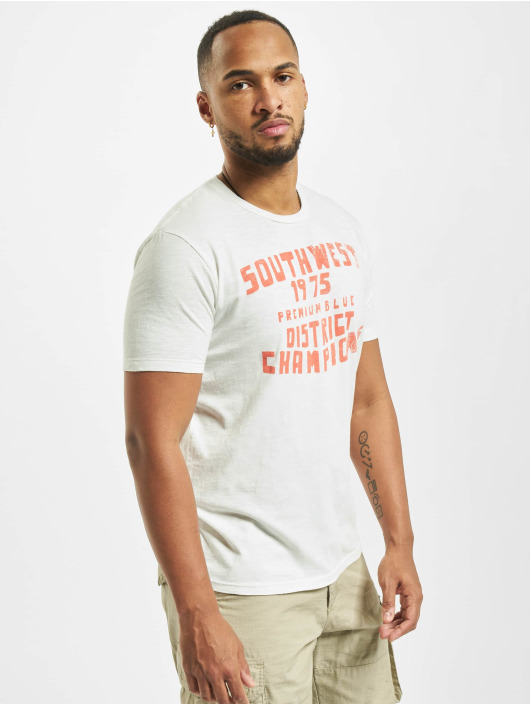 Jack & Jones T-Shirt jprBlubryan white