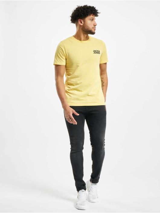 Jack & Jones T-Shirt jjeCorp yellow