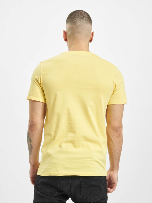 Jack & Jones T-Shirt jjeLog yellow