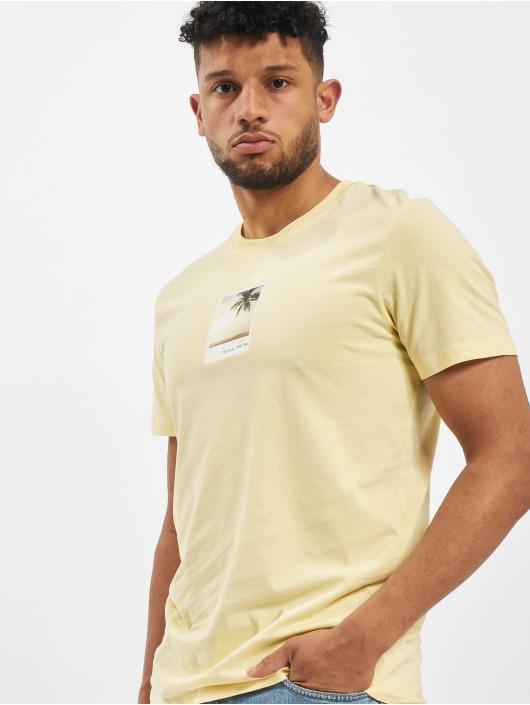 Jack & Jones T-Shirt jorDylant yellow