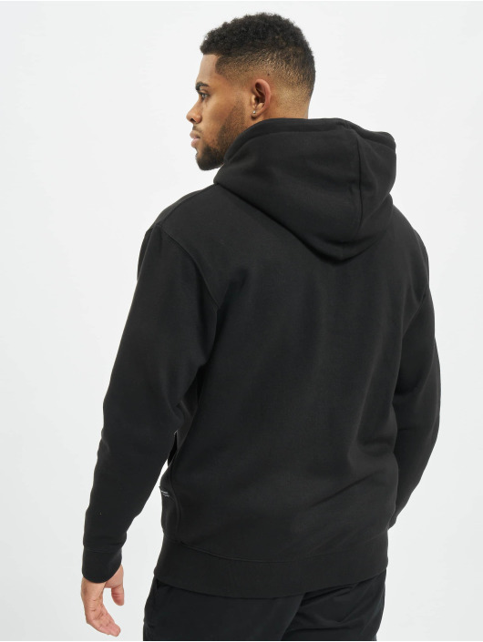 Jack & Jones Zip Hoodie jjeSoft black