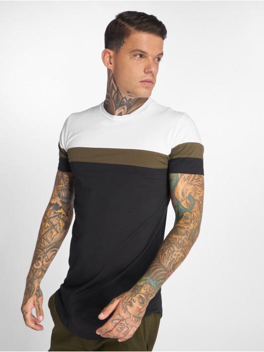 John H T-Shirt Stripes white