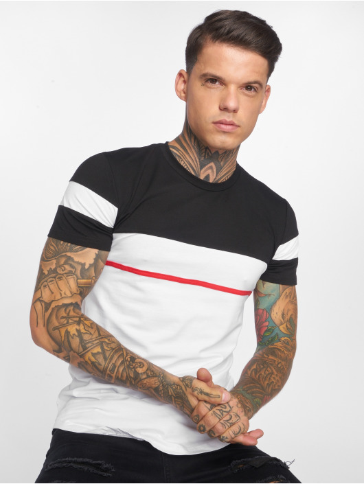 John H T-Shirt Line white