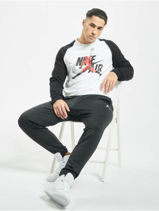 Jordan Pullover Jumpman Classics Fleece Crew white