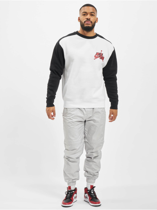 Jordan Pullover Fleece Crew white