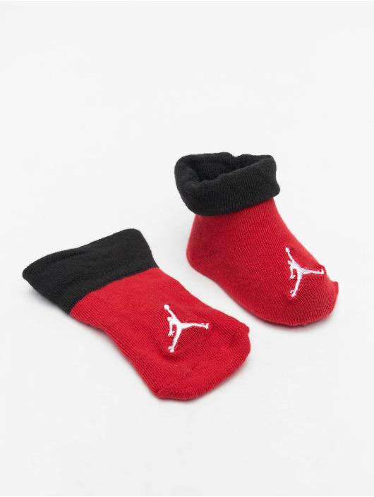 Jordan Socks Jumpman Color Blocked Bootie red