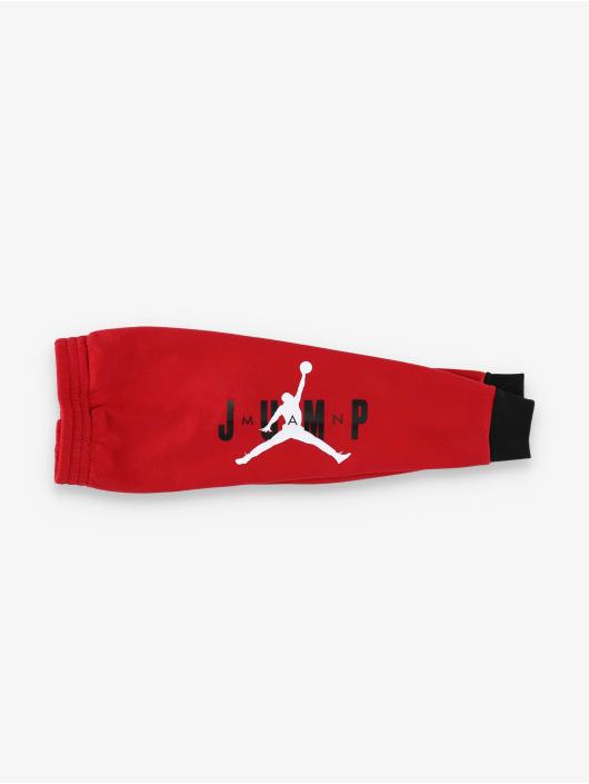Jordan Suits Jumpman Sideline Pullover & Jogger red