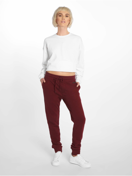 Just Rhyse Sweat Pant Poppy red