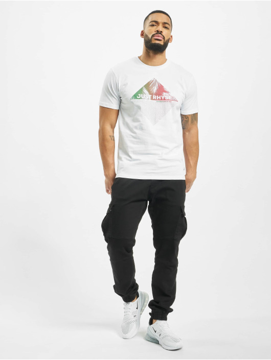 Just Rhyse T-Shirt Coyolar white