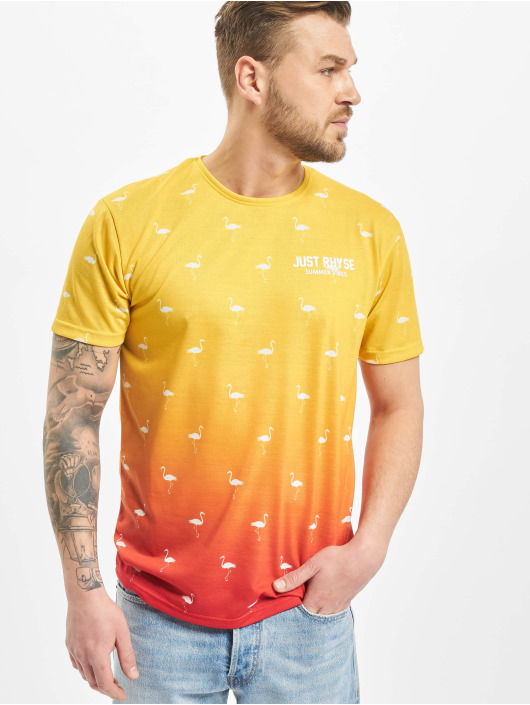 Just Rhyse T-Shirt Bellview yellow
