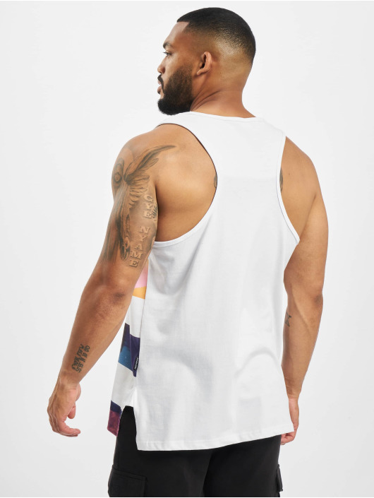 Just Rhyse Tank Tops Cabanillas white