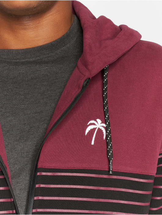 Just Rhyse Zip Hoodie Chillico red