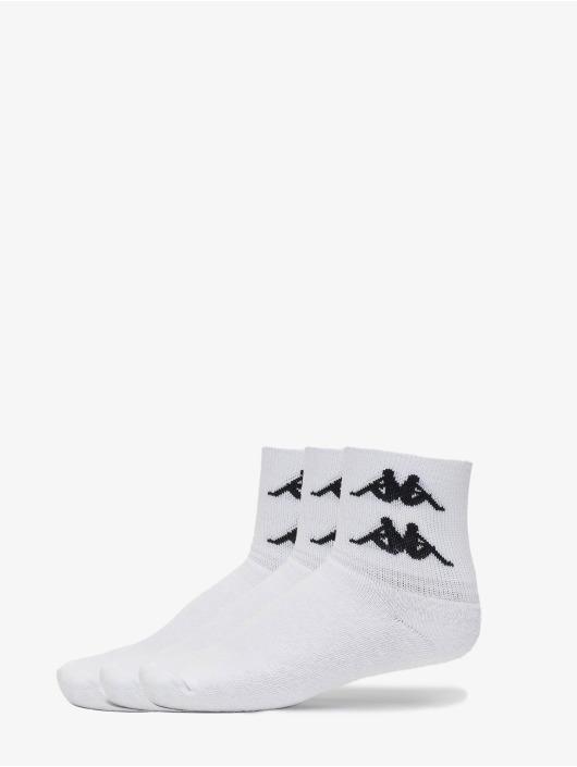Kappa Socks Evan Quarter white