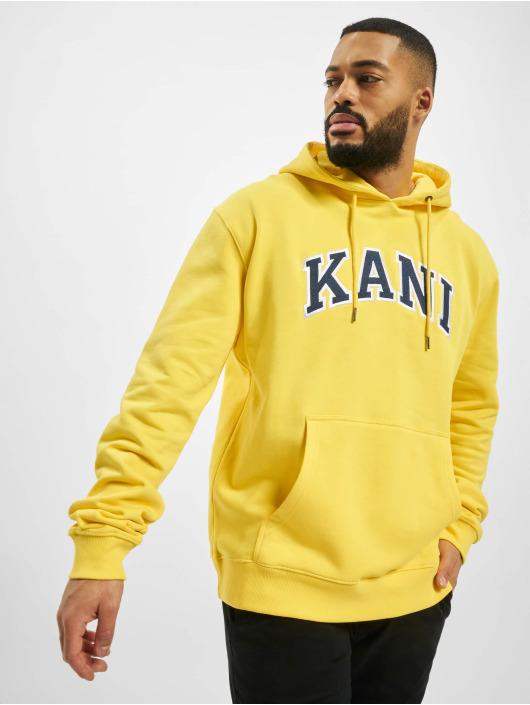 Karl Kani Hoodie College yellow