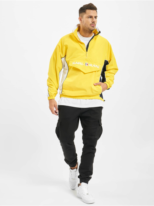 Karl Kani Lightweight Jacket Retro Block yellow