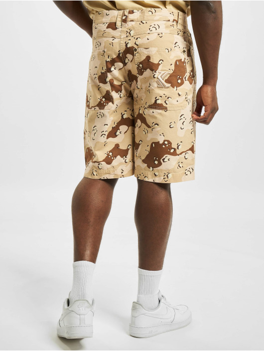 Karl Kani Short Small Signature Washed Camo camouflage