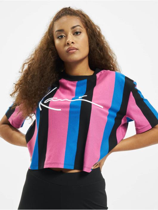 Karl Kani T-Shirt Kk Signature Stripe black