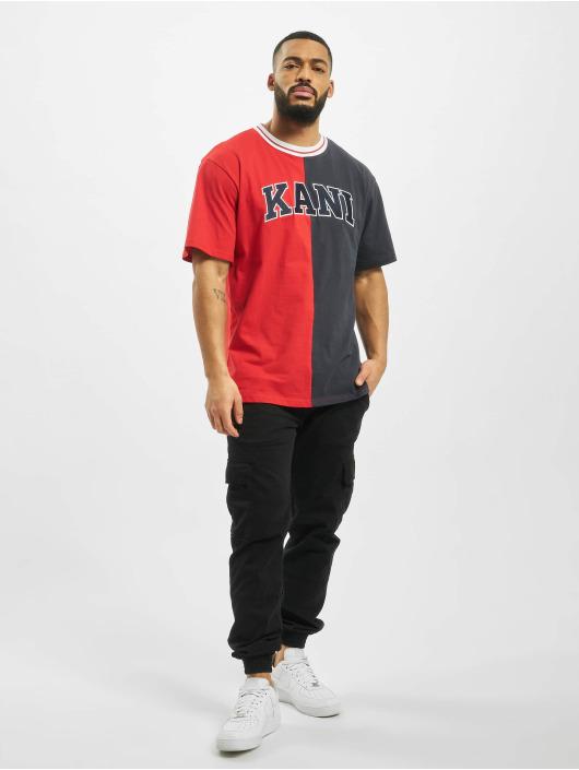 Karl Kani T-Shirt College BlocK red