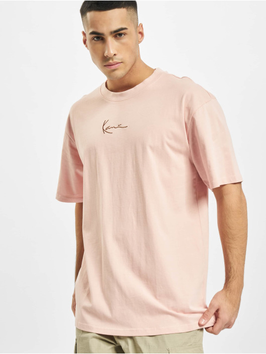 Karl Kani T-Shirt Small Signature rose