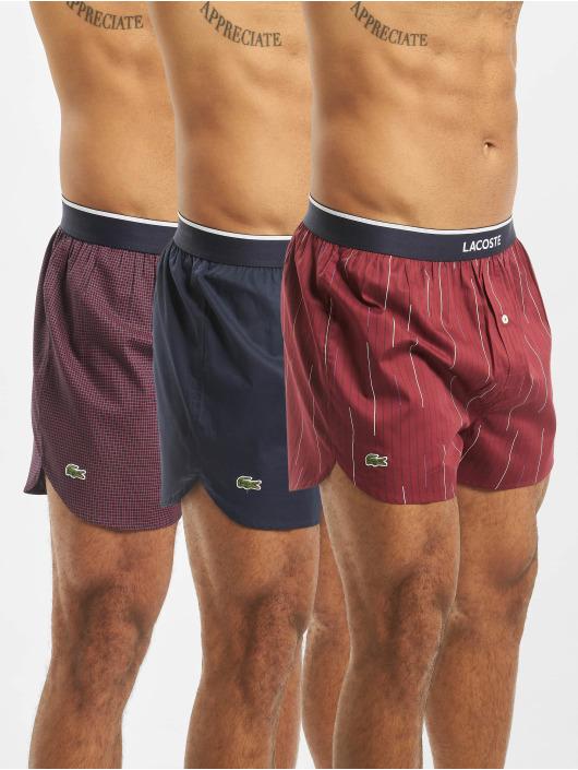 Lacoste Boxer Short 3 Pack Woven blue