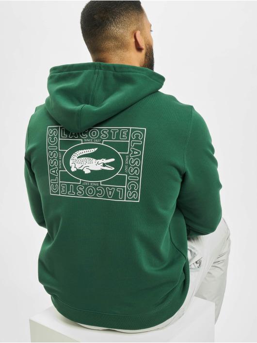 Lacoste Hoodie Logo green