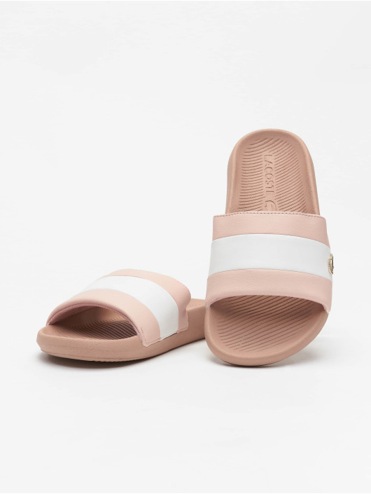 Lacoste Sandals Croco 120 3 US CFA rose