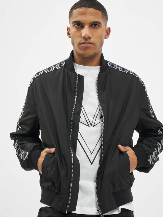 Les Hommes Bomber jacket Logo black