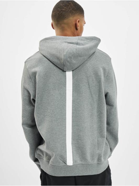 Les Hommes Hoodie Kaligrafi gray