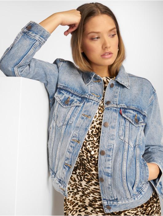 Levi's® Denim Jacket Exboyfriend Trucker Denim blue