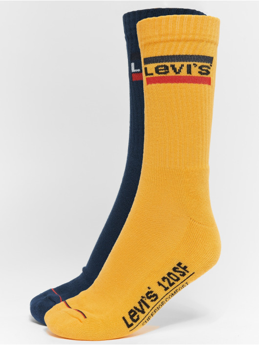 Levi's® Socks 120 SF Olympic Logo yellow