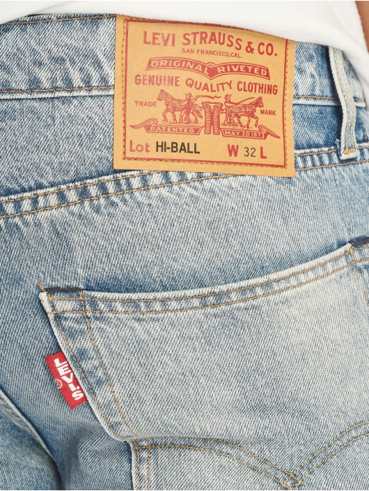 Levi's® Straight Fit Jeans Hi-Ball Roll indigo