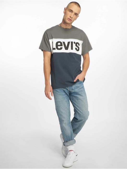 Levi's® T-Shirt Colorblock blue