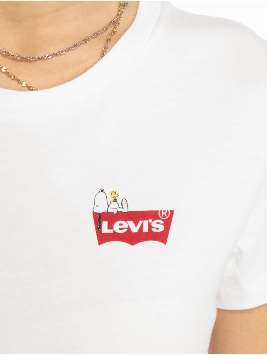 Levi's® T-Shirt The Perfect Tee Peanuts white