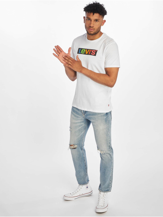 Levi's® T-Shirt Graphic Set-In Neck II Boxtab white