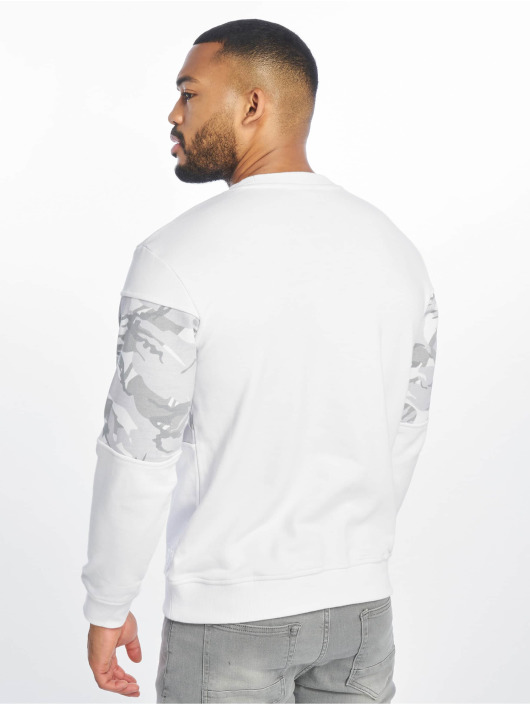 Lifted Pullover Mica white