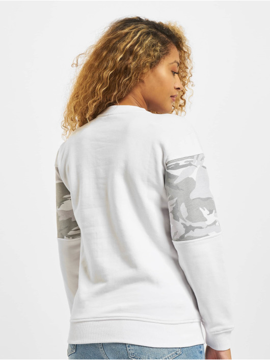 Lifted Pullover Solange white