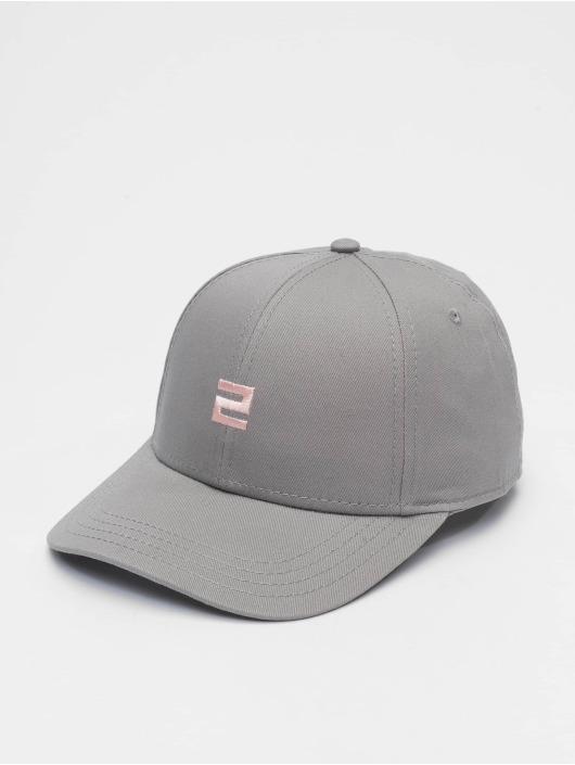 Lifted Snapback Cap Elin blue