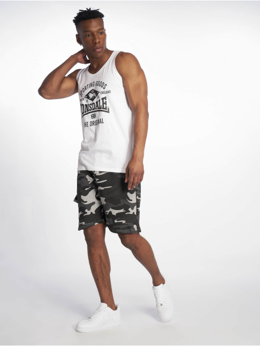Lonsdale London Tank Tops Hazelwood white