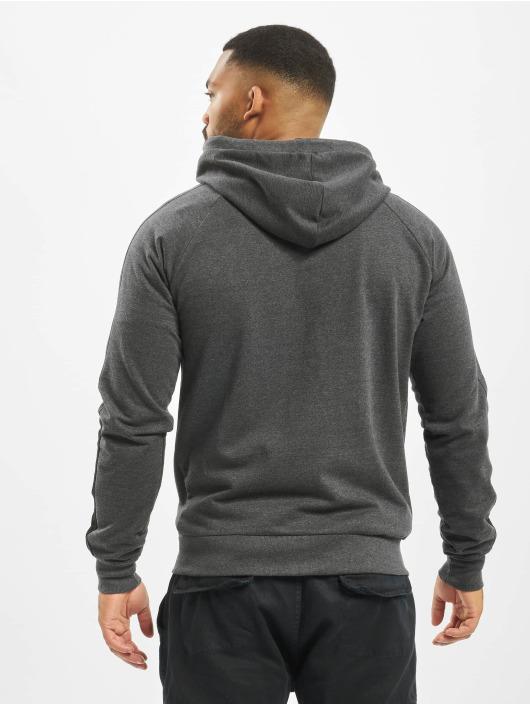 Lonsdale London Zip Hoodie Adbury Regular Fit gray