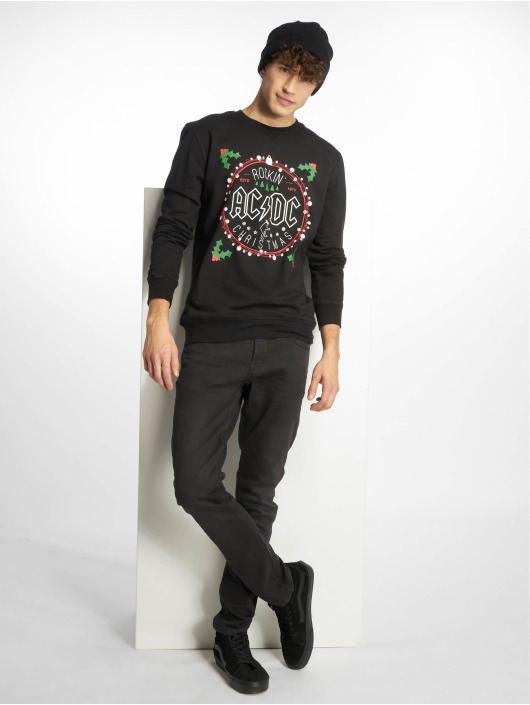 Merchcode Pullover ACDC Christmas black