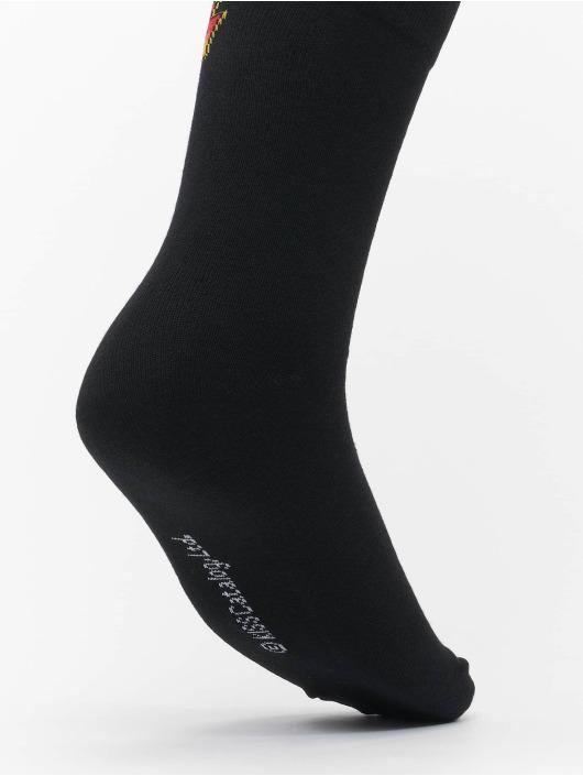 Merchcode Socks Merchcode Kiss 2-Pack Socks black